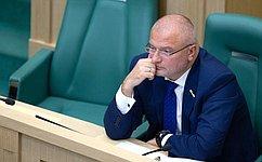 А. Клишас: ВСовете Федерации уделяют особое внимание теме пенитенциарной системы