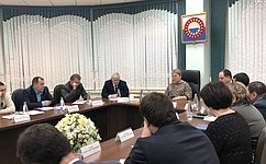 О.Старостина встретилась сглавами сельских муниципальных образований Ненецкого автономного округа