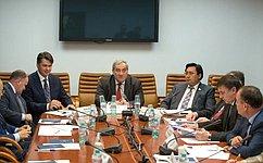 Необходимо выработать механизмы развития аэропортов иаэропортовой сети— В. Штыров