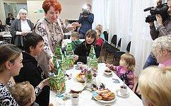 Е. Перминова вручила новогодние подарки детям сЮго-Востока Украины, временно проживающим вКурганской области