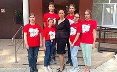И. Петина вДень знаний посетила Рязанский медицинский колледж игимназию номер 5