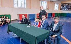 С. Рябухин иА.Карелин приняли участие вработе конференции «Спортивная борьба– опора региона»