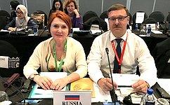 К.Косачев: Для России курс наразвитие всестороннего взаимодействия состранами АТР— приоритетное направление