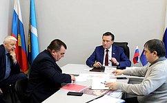 С. Рябухин провел прием граждан вУльяновске