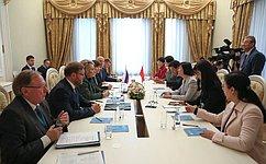 Россия иКитай активно развивают межпарламентские связи– В.Матвиенко