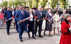 Л.Бокова: Священную память оподвиге советских солдат мы должны сохранить всвоих душах