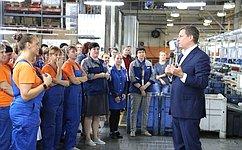 А. Епишин обсудил сржевскими производителями перспективы импортозамещения автомобильных запчастей иоборудования
