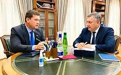 Входе работы вИркутской области А.Чернышев обсудил вопросы возведения мостового перехода, строительства студгородка вБратске