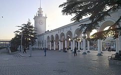 Миссия Совета Федерации понаблюдению запроведением референдума вКрыму прибыла вСимферополь