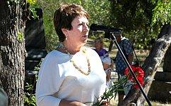 Е. Алтабаева: Общими усилиями властей, меценатов иэнтузиастов нужно провести реставрационные работы наБратском кладбище вСевастополе