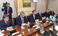 К.Косачев предложил казахстанским парламентариям усилить взаимодействие наплощадке Межпарламентского союза