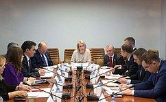 ВКомитете СФ поаграрно-продовольственной политике иприродопользованию обсудили вопросы водоснабжения иводоотведения