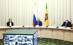М. Львова-Белова: ВПензенской области уделяется большое внимание внедрению инноваций всоциальной сфере