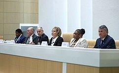 Совет Федерации твердо настроен наразвитие конструктивного, равноправного ивзаимовыгодного сотрудничества совсеми партнерами— В.Матвиенко