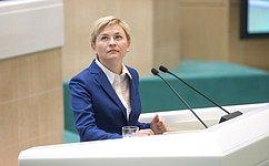 Законопроект, регулирующий порядок деятельности СМИ-иноагентов, ненарушает прав блогеров— Л.Бокова