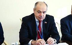 И. Умаханов встретился вСанкт-Петербурге сглавой делегации Бангладеш ичленами делегации Марокко