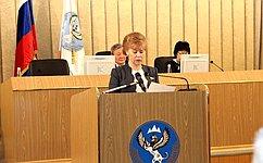 Т.Гигель: Повышение качества законодательства— важная задача органов государственной власти