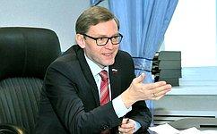 А.Костюков встретился сучениками школ игимназий Великого Новгорода