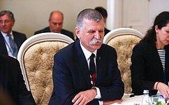 В. Матвиенко провела встречу сПредседателем Госсобрания Венгрии