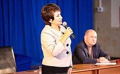 Входе работы вСевастополе Е.Алтабаева провела прием граждан