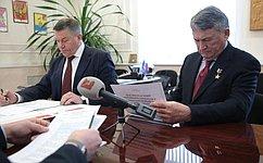 Ю. Воробьев: Вытегорский район нуждается впрофессиональной команде управленцев, способных решать поставленные задачи