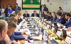 Создание современной инфраструктуры как основы развития территорий рассмотрел Комитет СФ поэкономической политике