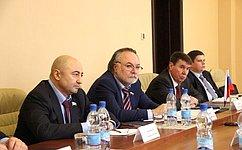 Необходимо укреплять взаимодействие молодых парламентариев России иЮжной Осетии— А.Тотоонов