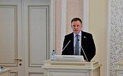 В. Новожилов отчитался освоей работе запрошлый год