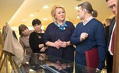 ВСовете Федерации открылась выставка гравюр художника Владимира Нуждина