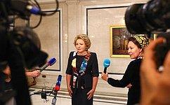 Россия приветствует решение Туркменистана вступить вМежпарламентский союз– В.Матвиенко