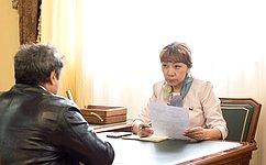 В. Зганич провела прием граждан вНарьян-Маре Ненецкого автономного округа