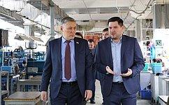 Ю. Валяев: Продукция многих предприятий ЕАО может быть зарегистрирована вкачестве региональных брендов