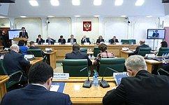 ВСовете Федерации состоялись парламентские слушания повопросам развития уголовного законодательства