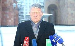 Ю.Воробьев принял участие впамятных мероприятиях к30-й годовщине землетрясения вАрмении
