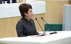 Е. Алтабаева: В2020году Совет Федерации плодотворно взаимодействовал сУполномоченным поправам человека вРФ