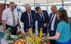 А. Шевченко посетил областной фестиваль искусств для тружеников села «Русское поле»