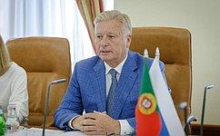 Л. Тягачев провел встречу спарламентской делегацией Португалии