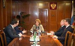 В.Матвиенко: Ставрополье– край динамичного развития