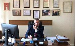 С. Березкин: Ниодно обращение, высказанное наприеме граждан, неостается без внимания