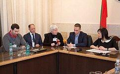 В.Абрамов иО.Тимофеева приняли участие внаблюдении завыборами вПриднестровье