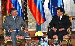 Верхние палаты парламентов РФ иСловении заключили соглашение осотрудничестве