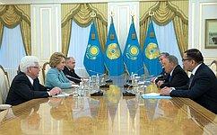 Официальный визит делегации Совета Федерации вРеспублику Казахстан