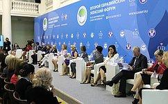 «Женская двадцатка» стала эффективным каналом коммуникации женской общественности смировыми лидерами— В.Матвиенко