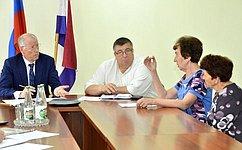 Н.Петрушкин побывал срабочей поездкой вАтяшевском муниципальном районе Республики Мордовия