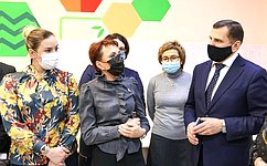 Т. Кусайко проконтролировала организацию горячего питания для младшеклассников вМурманской области