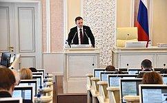 В.Новожилов: Совместно счленами Архангельского областного Собрания депутатов мы должны решать насущные проблемы региона