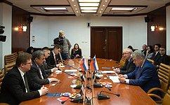 В. Бондарев: Россия иСловакия развивают сотрудничество ввоенно-технической сфере