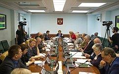 Сенаторы рассмотрели реализацию государственной культурной политики вКалужской области