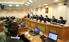 Комитеты СФ провели консультации покандидатурам для назначения надолжность региональных прокуроров иприравненных кним прокуроров