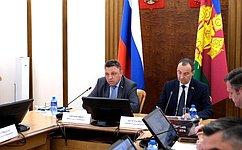 В. Тимченко провел выездное совещание, посвященное совершенствованию правового регулирования всфере государственного имуниципального контроля